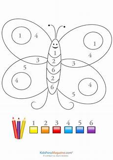 color by number worksheets butterfly 16083 fanciful butterfly color by number color by numbers preschool colors numbers preschool