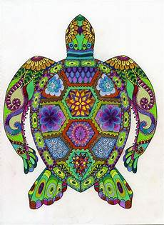 pin by chilcott on colouring turtle painting