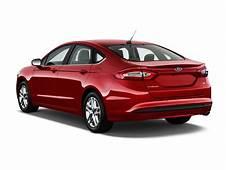 Image 2014 Ford Fusion 4 Door Sedan SE FWD Angular Rear
