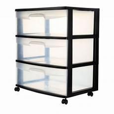Clear Storage Drawers by Sterilite Plastic Storage Drawer Organizer Box Cabinet 3