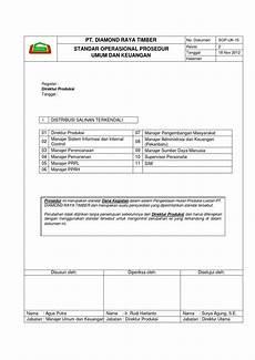 standar operasional prosedur umum dan keuangan by rindra