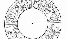 Ausmalbilder Jahreszeiten Kinder Jahresuhr Jahr Kalender Of Vorlagen Zum Ausmalen