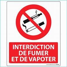 affiche défense de fumer interdiction de fumer image panneau de signalisation d