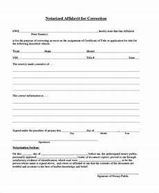 free 9 sle general affidavit forms in pdf excel ms word