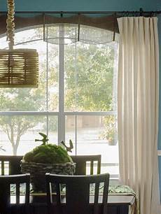 Diy Window Curtains From Canvas Or Dropcloth Diy Network