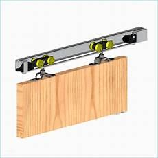 rail porte garage suspendue systeme coulissant 2 portes rail pour porte