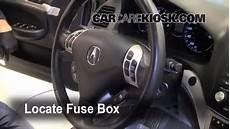 Interior Fuse Box Location 2004 2008 Acura Tsx 2008