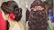 easy hairstyles ideas for indian wedding season beautiful hairstyles for engagement youtube