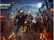 Desktop Wallpaper Fortnite, Characters, Game, Halloween