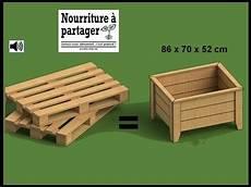 bac à bois tuto fabriquer un bac 224 jardiner en bois de palette