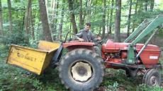 vidéo de tracteur bucheron tracteur