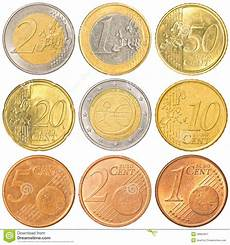 Coins Collection Stock Image Image Of Cent Isolated