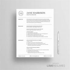 professional resume template 2 page cv limeresumes