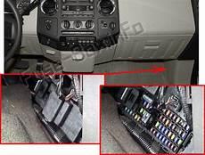 2012 f350 fuse box ford f 250 f 350 f 450 f 550 2008 2012