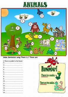 there is there are prepositions animals worksheet free esl printable worksheets made by teachers