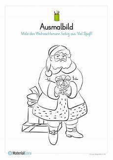 Malvorlagen Weihnachtsmann Text Weihnachten Kostenlose Arbeitsbl 228 Tter Weihnachten In