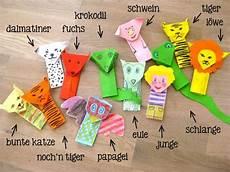 Tiere Basteln Aus Papier - die besten 25 fingerpuppen basteln ideen auf