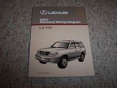 free car repair manuals 2003 lexus lx parking system 2007 lexus lx470 lx 470 factory original electrical wiring diagram manual book ebay