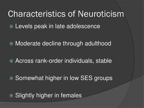What Is Neuroticism Personality Trait
