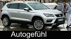 Seat Ateca Review Test Driven All New Suv Neu Vw