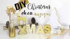 Diy Noel Deco Doree Magique Facile Pas Cher