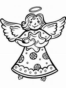 Ausmalbilder Weihnachten Engel Coloring Pages Free Printable