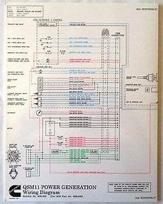cummins laminated qsm 11 power generation wiring diagram ebay