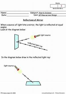 grade 5 science worksheets light 12290 primaryleap co uk mirror reflections worksheet vedant agarwal primary