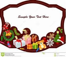 merry christmas frame stock vector image of frame festive 17385877