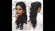 tutorial indian party hairstyle youtube
