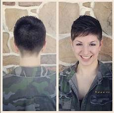 military haircut women military inspired shearing pixie cut pinterest