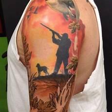 169 fantastic hunting tattoo designs creativefan