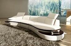 couch rund leder sofa ecksofa wohnlandschaft rund couch sitz polster