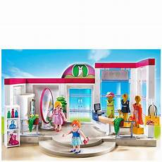 playmobil shopping centre clothing boutique 5486 toys