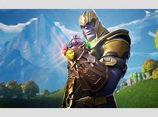 3840x2400 Thanos In Fortnite Battle Royale 4k HD 4k