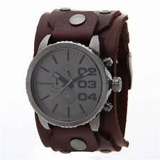 montre bracelet cuir large expensive watches montre diesel homme xl