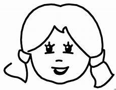 gesicht eines maedchens ausmalbild malvorlage comics