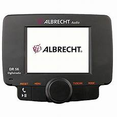 albrecht dr 56 autoradio dab adapter digitalradio mit
