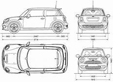 Mini Cooper Blueprint  Google 검색 493 Pinterest