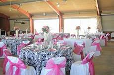 wedding flowers pink silver and black damask reception hotpink fuschia and black 171 weddingbee
