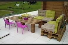 ou trouver des coussins pour salon de jardin en palette