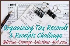 create a personal tax organizer system organize receipts challenge