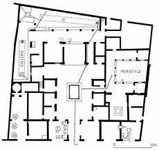 pompeii house plan plan of the house of sallust pompeii iii c bc