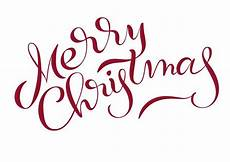 merry christmas text isolated white background calligraphy lettering download free vectors