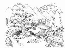 landscapes in pencil pdf drawing at getdrawings free