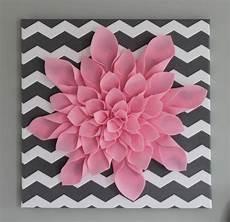 all things diy chevron flower canvas