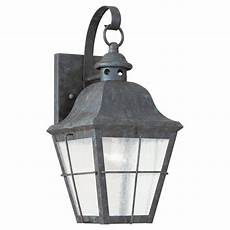 sea gull lighting colonial bronze one light outdoor wall 8462 46 bellacor