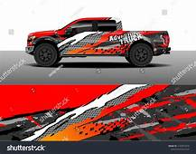 Truck And Vehicle Graphic Decal Designs Car Wrap Vector