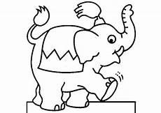 ausmalbilder elefanten 02 ausmalbilder tiere