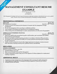 resume exles consulting sle resume